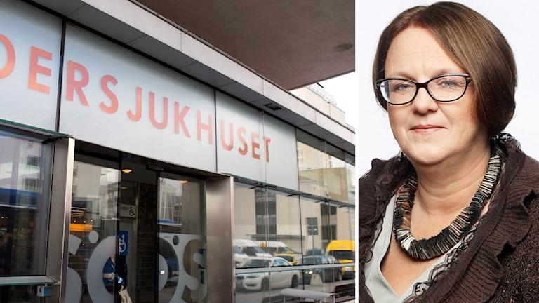 SÖS entré och Marie Ljungberg Schött