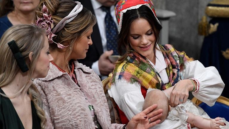Prins Gabriel och Prinsessan Sofia.