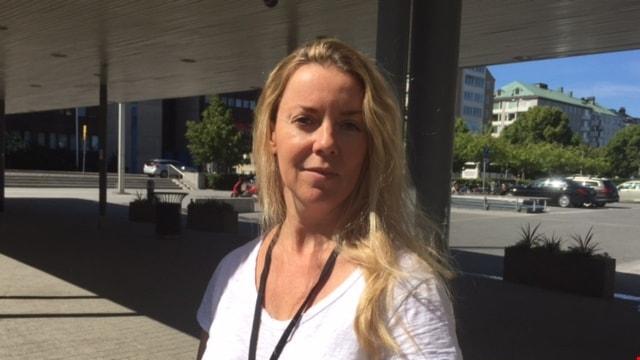 Ci Holmgren, Politisk reporter på Ekot