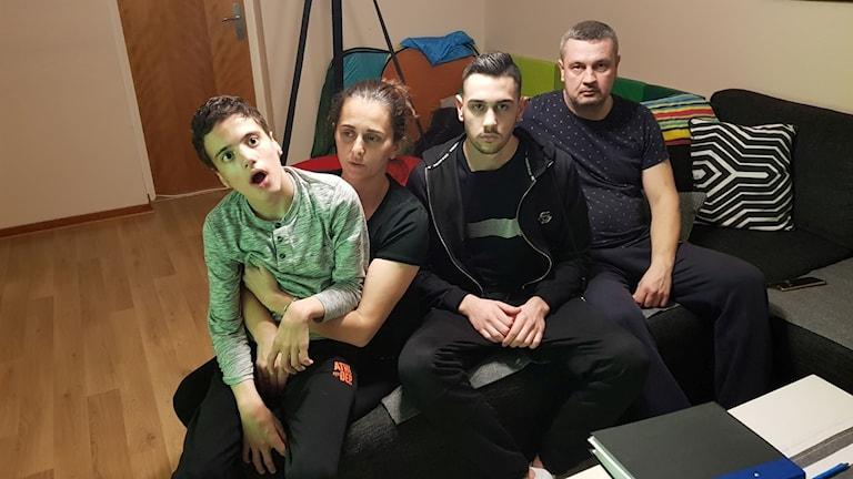 Familjen Kovacevic är oroliga över hur en helt ny miljö kommer att påverka deras yngsta och svårt sjuka son Djordje.