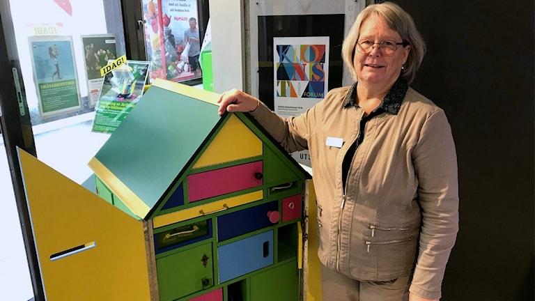 Birgitta Vinnå är bibliotekschef i Järfälla kommun.