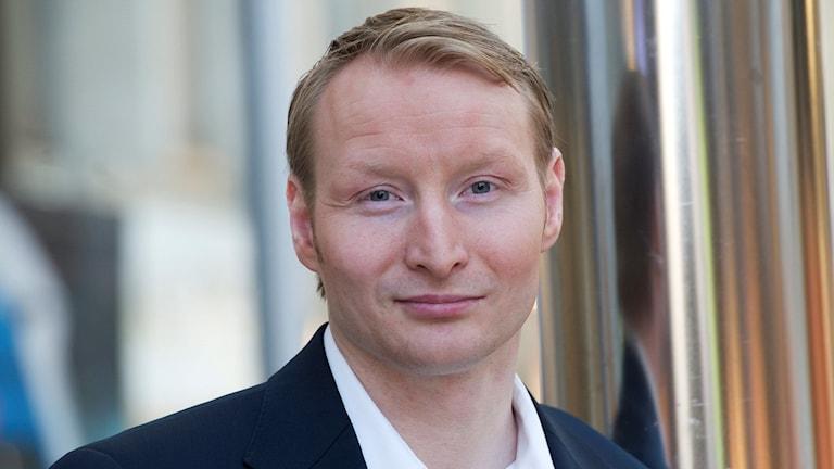 Pehr Granfalk (M), kommunstyrelsens ordförande i Solna. Foto: TT