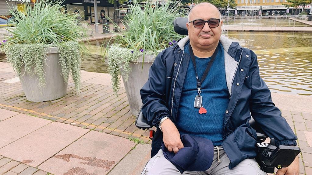 Amir Amirriazi från DHR Stockholm