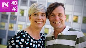 Ylva Lilja och Henrik Olsson i P4 Stockholm