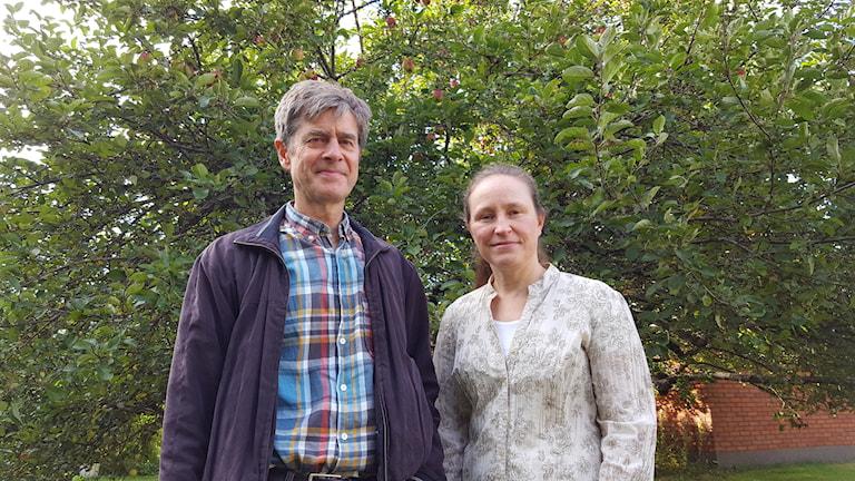 Björn Bernhardson och Cilla Hansson Ingman