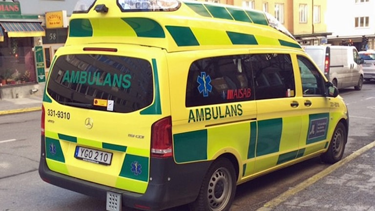 Ambulans (arkivbild).