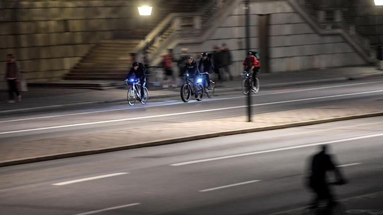 Cyklister Stockholm