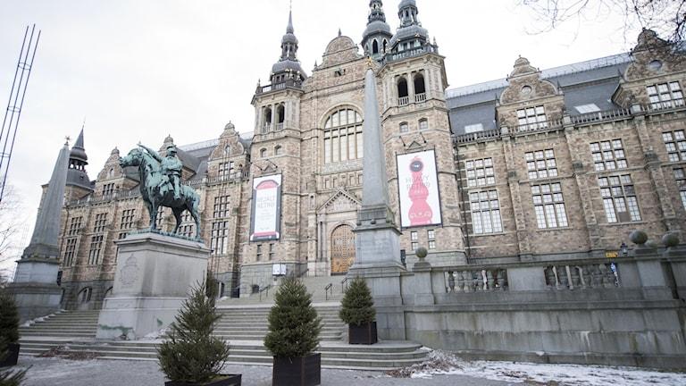 Nordiska museet på Djurgården.