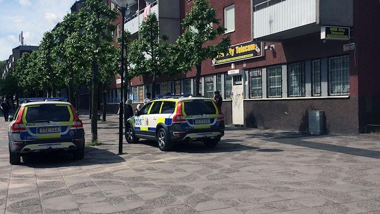 Rån mot växlingskontor i Tensta