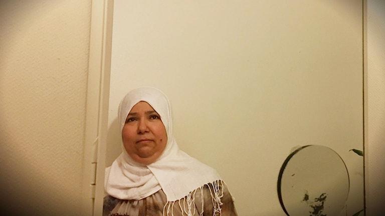Aicha Kalef, boende Husby