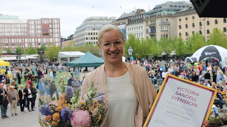 Vinnaren Victoria Sandell