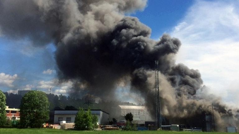 Branden Veddesta industriområde