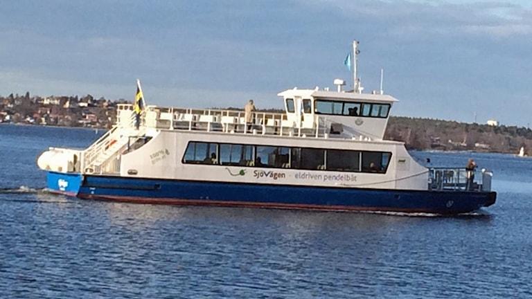 Pendelbåt i Stockholm (arkivbild).