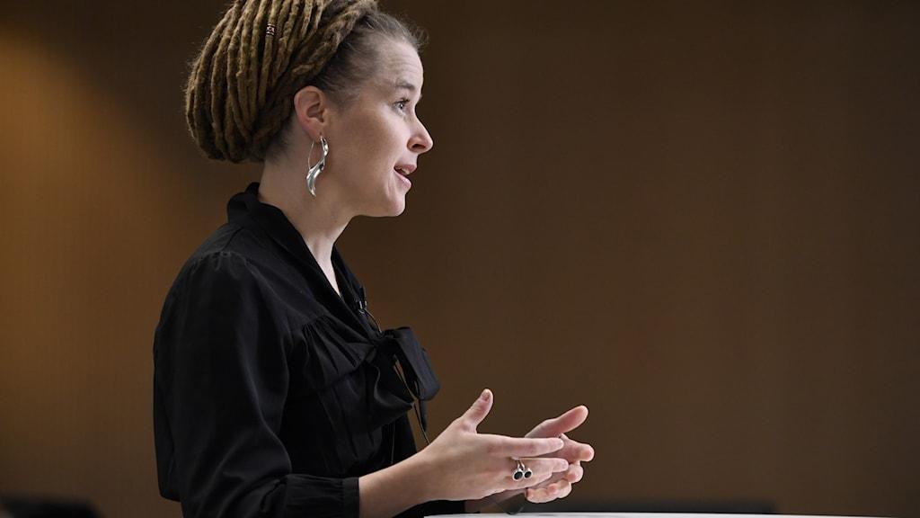 Kulturminister Amanda Lind