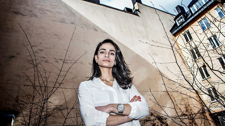 Zozan Inci, som är ordförande för Riksorganisationen för kvinno- och tjejjourer i Sverige, Roks