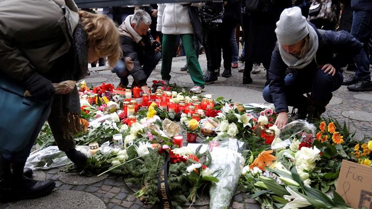 Misstänkt terrordåd i Berlin