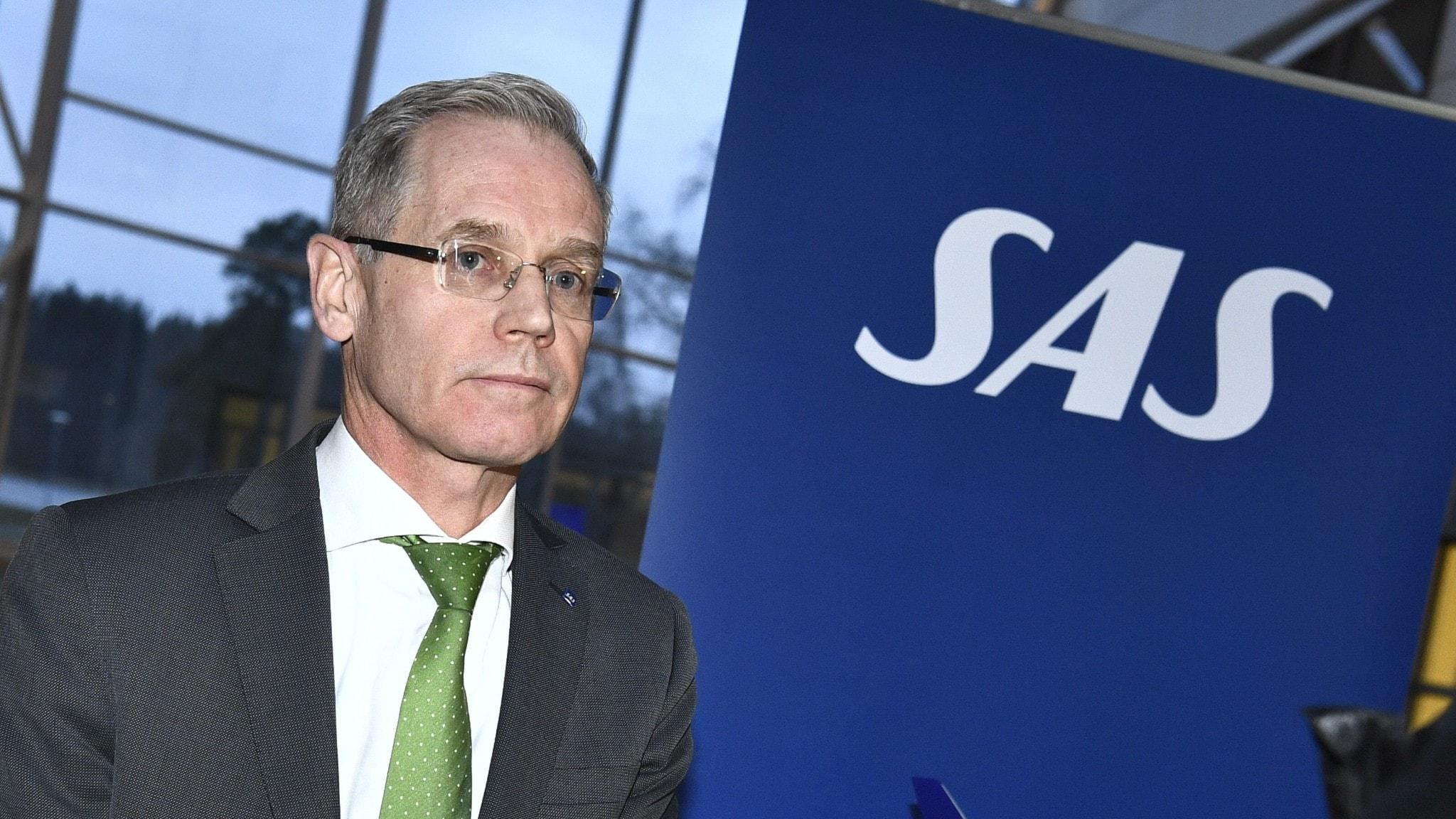 SAS ställer in merparten av sina avgångar