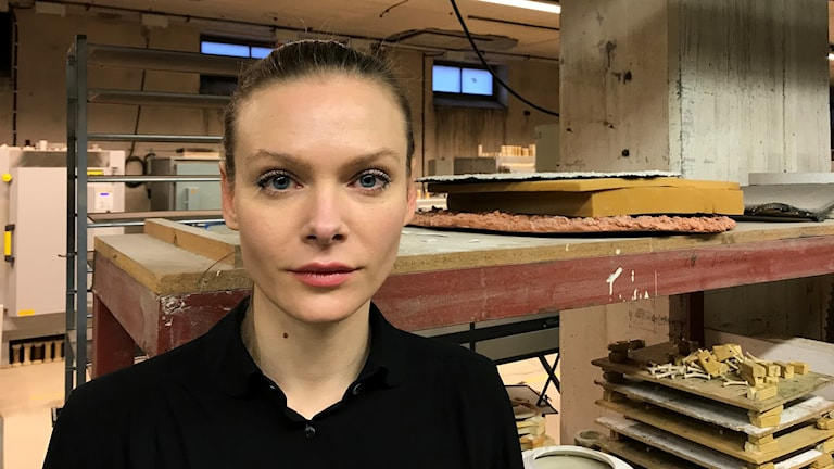 Lisa Wallert Wallert ordförande i ateljéföreningen G-studion