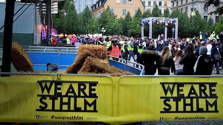 We are Sthlm 2016i Kungsträdgården