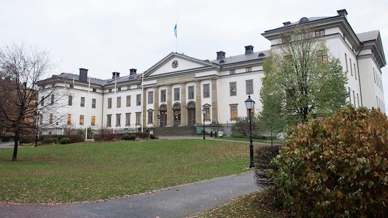 Stockholms läns landstings högkvarter på Kungsholmen (arkivbild).