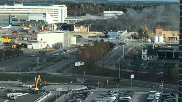 Brand på Arlanda