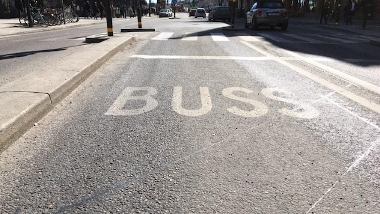 Busskörfält