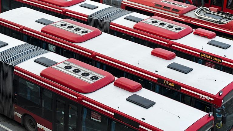 bussar Slussen