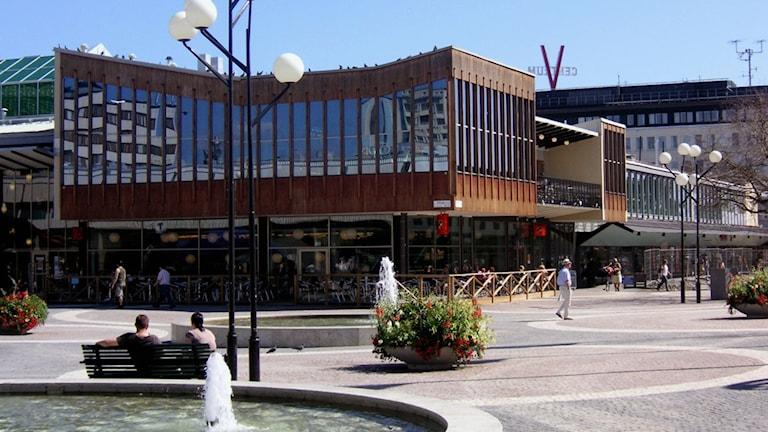 Nu säljs Vällingby Centrum.