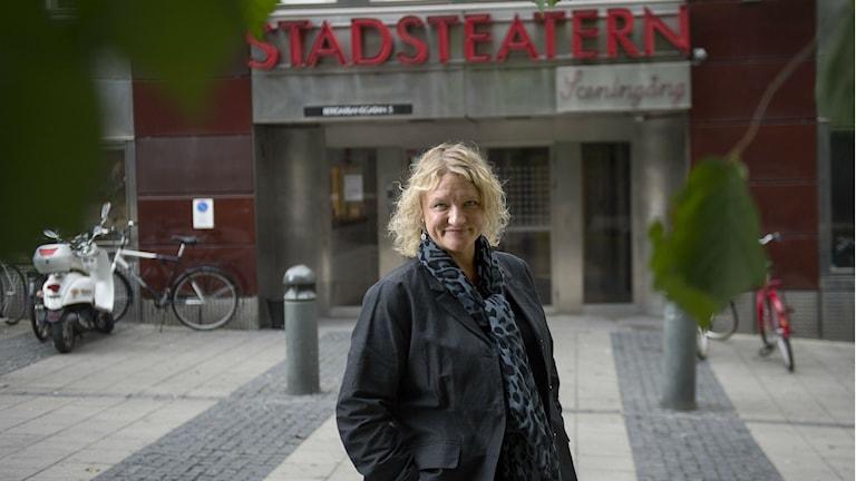 Teaterchef Anna Takanen lämnar Kulturhuset Stadsteatern (arkivbild).