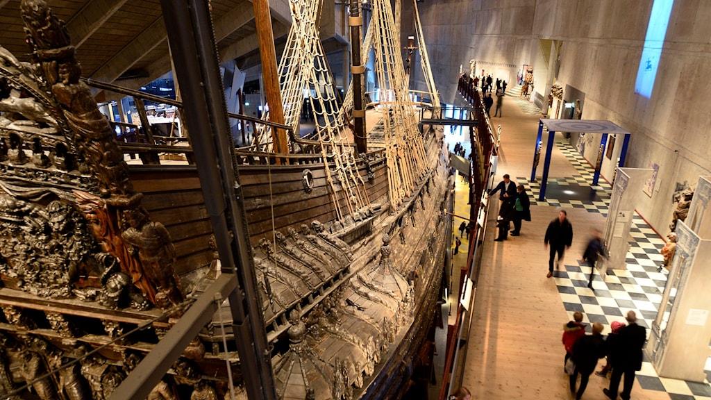 Vasamuseet i Stockholm är en av Nordens mest populära turistattraktioner.