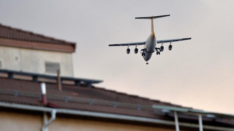 Flygplan över Bromma