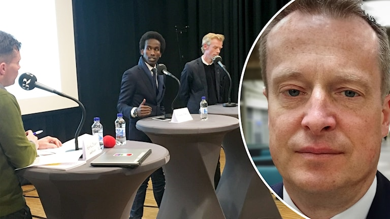 Henrik Olsson Mohamed Nuur Ole-Jörgen Persson och Anders Ygeman Kista