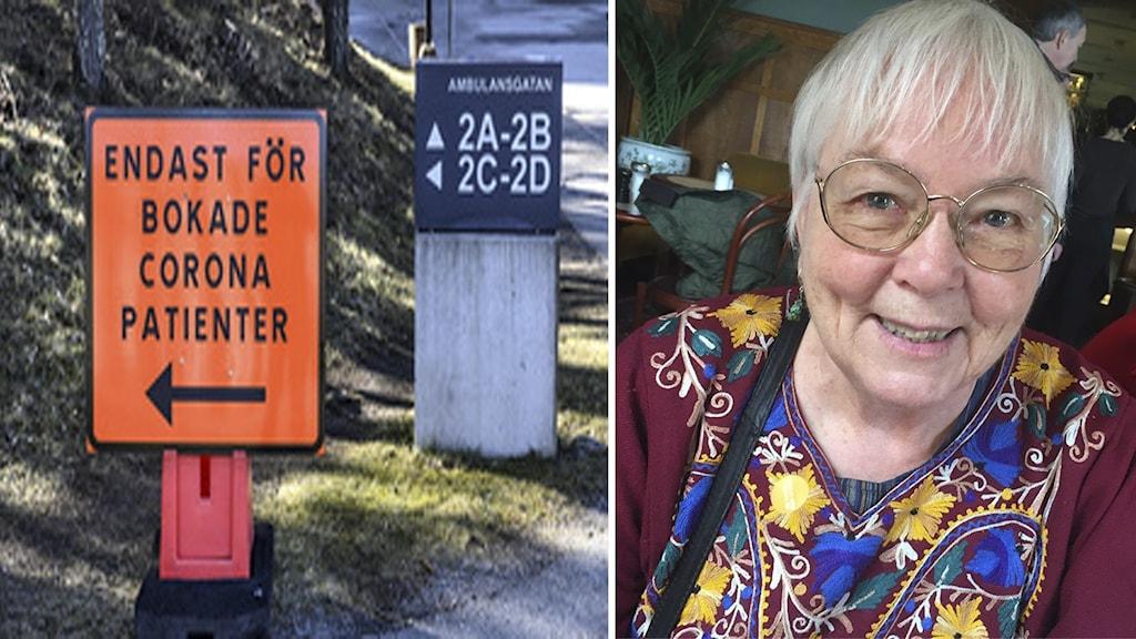 Pensionerade läkaren Ingrid Eckerman är nu på bättringsvägen