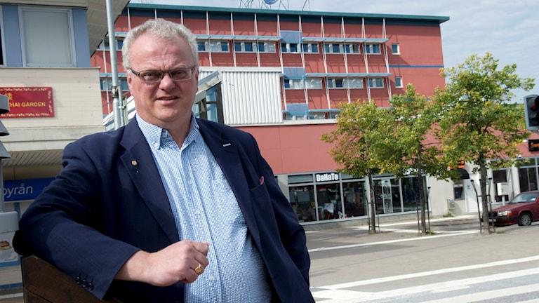Lennart Kalderén, kommunalråd i Salem.