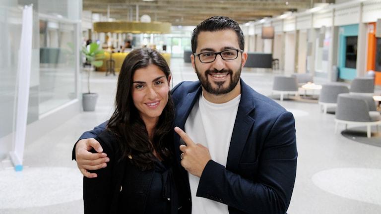Michel och Mariella Issa ska åka till Syrien på sin smekmånad.