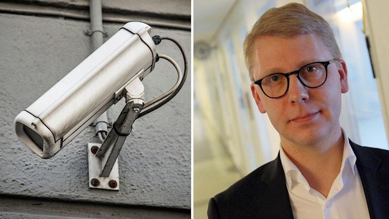 Kristoffer Tamsons och kamera.