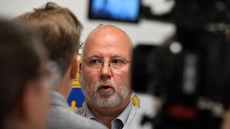 Gunnar Appelgren, polis