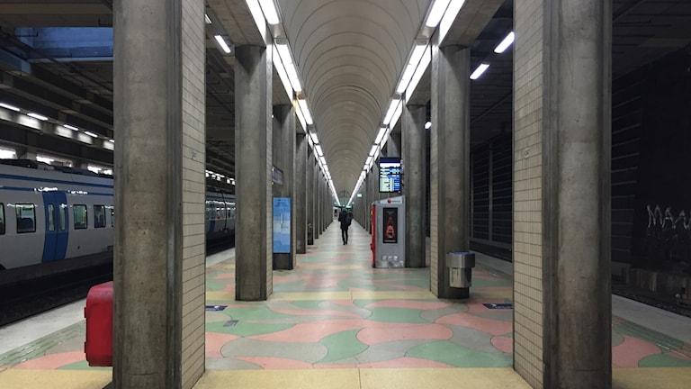 Tråkiga Södra station.