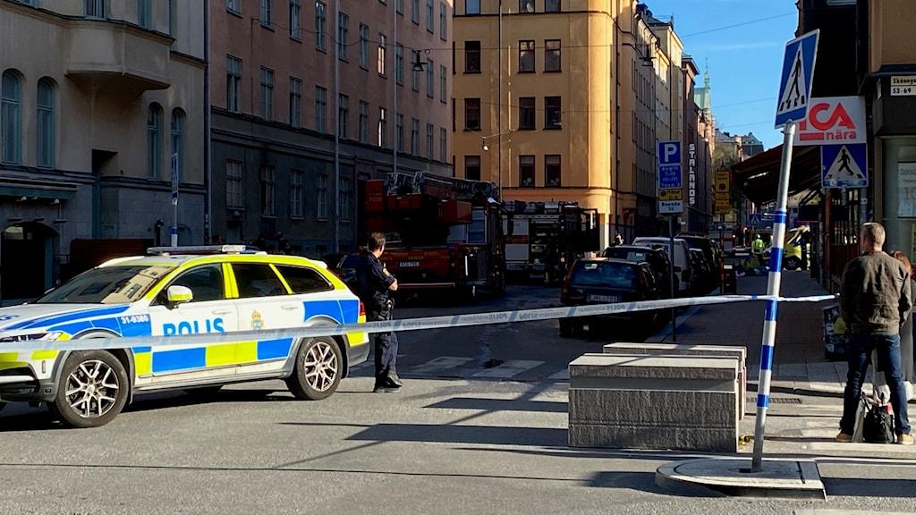 Östgötagatan på Södermalm.