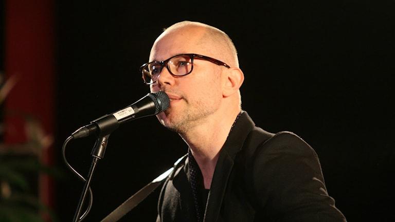 Tomas Andersson Wij uppträder på Musikplats Stockholm.