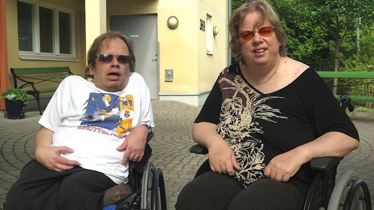 Patrik Waern och Madeleine Tagesson-Waern