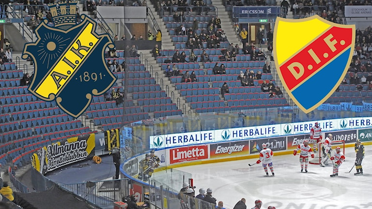 Arkivbild från en AIK-match på Hovet.