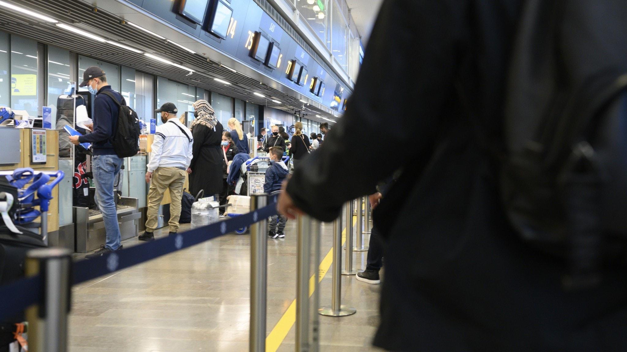 Flygbokningar väntas öka med 2 000 procent