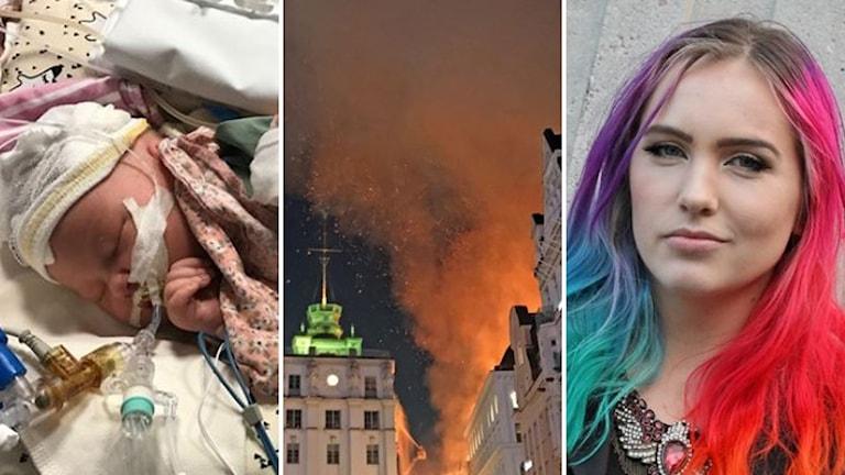 Öden, olyckor och personporträtt lockade till många klick på P4 Stockholms sajt 2017.