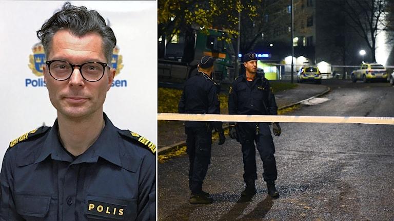 Jan Evenssons kommentar efter senaste skjutningen i Hallonbergen