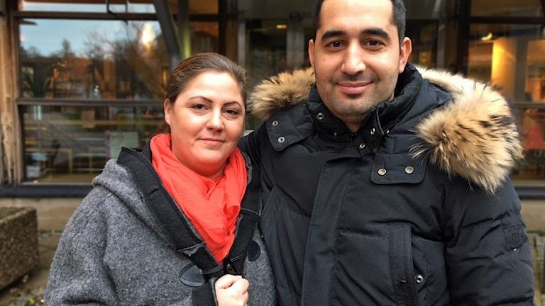 Fares Youssef och Maria Liefvergren AstraZeneca