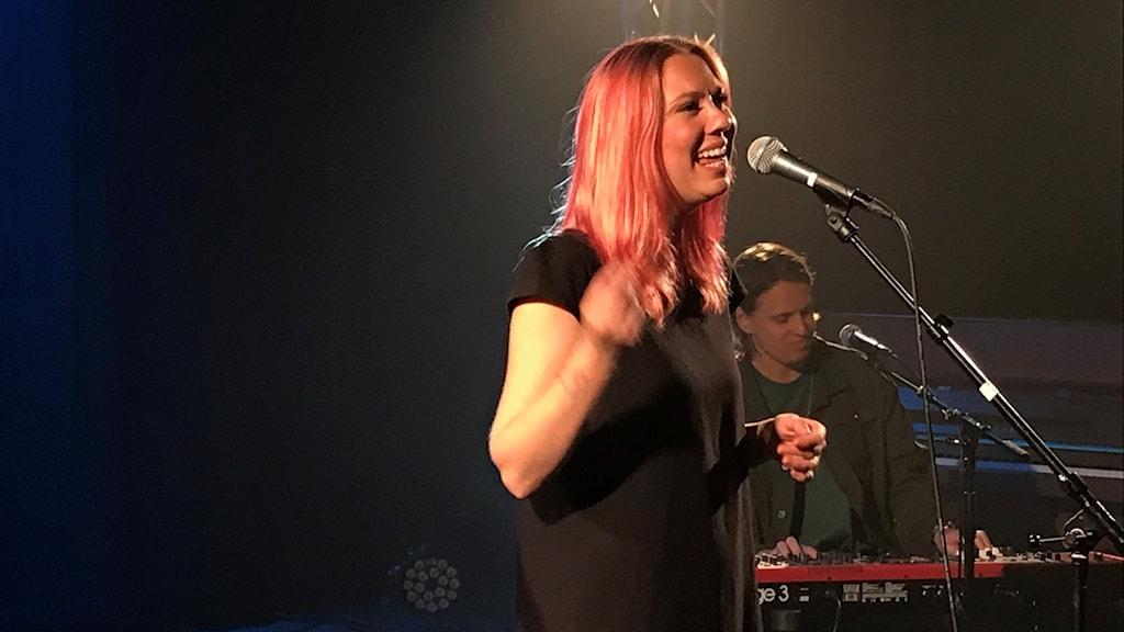 Clara Klingenström på Musikplats Stockholm.
