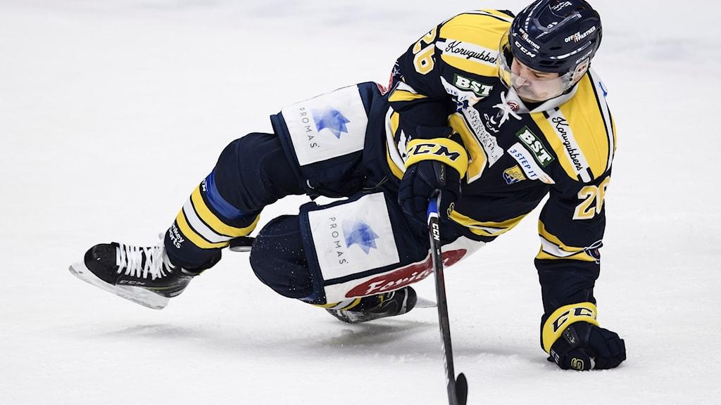 Hockeyspelare i Södertälje SK.