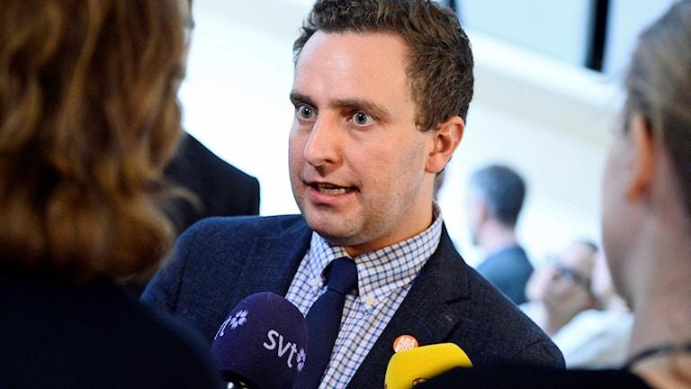 Tomas Tobé partisekreterare för moderaterna.