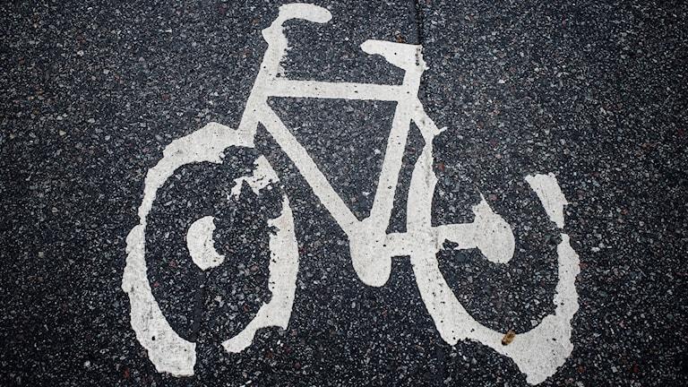Bygget av den nya cykelbanan är stoppat tillsvidare (arkivbild).